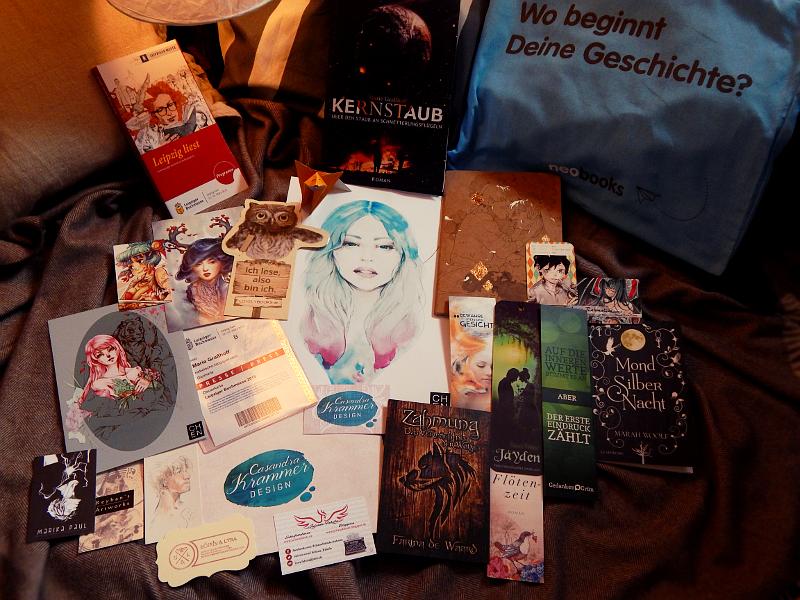 Buchmesse, Visitenkarten, Marie Graßhoff, Kernstaub, Nebelecho, Autorin, Autorenblog