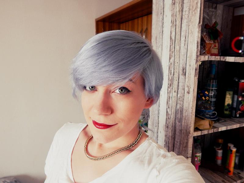 Haare Weiß Silber Und Dunkelgrau Färben Marie Graßhoff